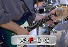 Learn How To Play Bass Guitar Instruction Tutorial, on Plain DVD-R