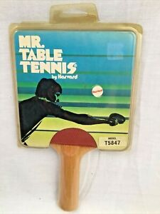 Vintage Ping Pong Paddle - Mr. Table Tennis - By Harvard - Rare - NEW SEALED!