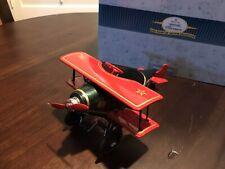 Hallmark Kiddie Car Classics Dan Palmiter 1930 Spirit Of Christmas Biplane