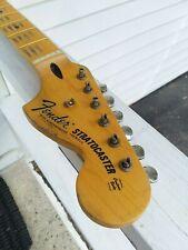 Fender Lic Relic STRAT neck Aged Nitro 69 70 maple Stratocaster Mr. G's Customs