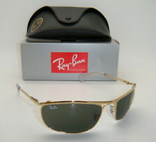 New Authentic Ray-Ban Olympian Gold Frame Green Classic G-15 RB 3119 001 62mm