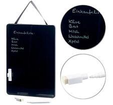 Tableau noir 27,5 x 20 cm avec feutre blanc effaçable - Infactory
