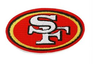 San Francisco 49ers 49'ers NFL Super Bowl NFL Football Embroidered Iron On Patch