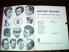 Motor Racing. The International Way by Nick Britain