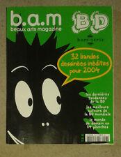 Beaux Arts Magazine. N° 9. Hors-série. 32 bandes dessinées inédites pour 2004.