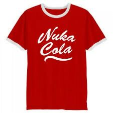 Fallout Men's Nuka Cola Logo T-shirt Extra Extra Large Red Ge1748xxl