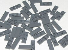 Lego Lot of 50 Dark Bluish Gray Tiles 1 x 3 Smooth Flat Parts Pieces