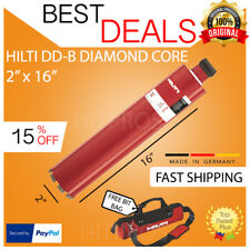"""Hilti Diamond Core Bit Dd-B 2"""" X 16"""", New, Free Hilti Hat, Bit Bag, Fast Ship"""