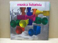MUSICA FUTURISTA - 2 LP - 33 RPM - GATEFOLD - MULTHIPLA RECORDS 1980