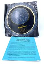 Planisphere, Plastic Cover, & Instructions By Philips 1980's