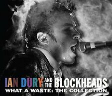 What A Waste-The Collection - Ian & The Blockheads Dury (2017, CD NEU)2 DISC SET
