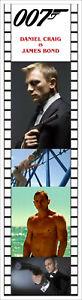 007 JAMES BOND BOOKMARKS
