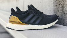 Adidas Ultra Boost 2.0 UCLA PE. size 16. Black Gold Blue. BB0800. LTD nmd ok