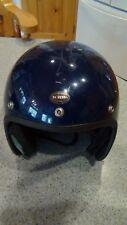 vintage KRW motorcycle helmet
