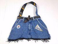 Pittsburgh Steelers NFL Women's Denim Blue Jean Purse