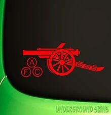 Arsenal Gunners Car Sticker Laptop Vinyl Decal