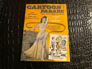 JAN 1962 CARTOON PARADE digest pinup humor cartoon magazine (MISC5020)