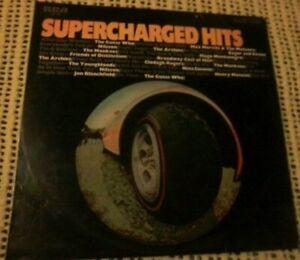 BULK LOT VARIOUS ARTISTS SUPERCHARGED HITS VINYL LP 1970 ORIGINAL AUST PRESSING