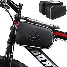 Bicycle Phone Saddle Bag / ROSWHEEL FRONT-TOP TUBE FRAME BAG W TOUCHSCREEN