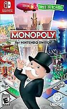 MONOPOLY FOR NINTENDO SWITCH BRAND NEW, FACTORY SEALED, SHIPS QUICK & FREE!