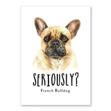 New ListingFrench Bulldog Pet Puppy Canvas Wall Art Poster Nursery Kids Room Home Decor Pic