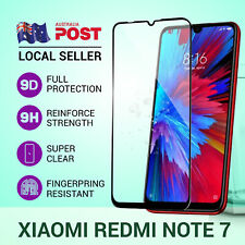 9D Tempered Glass Screen Protector Full Cover Coverage for Xiaomi Redmi Note 7