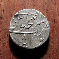 INDIA, GWALIOR STATE, AH1236 RY15 = 1821 AD, 1  AR RUPEE DAULAT RAO  KM#61 TGHT