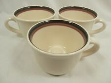 Set of 3 Coffee Cups Only MugsEMBERS by Pfaltzgraff USA Excellent