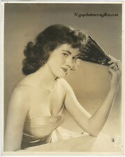 Rare Early 1950s Bunny Yeager Large Format Photograph Fashion Modeling Portrait