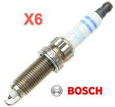 6 Spark Plugs OEM BOSCH High Power Fine Wire Double Platinum ZR5TPP33 Pre gapped