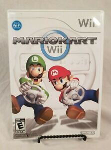 Mario Kart Wii (Nintendo, 2008) Complete with Manual; Tested & Works!