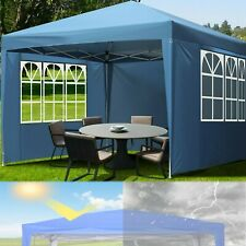 10' x 10' Gazebo Canopy Party Tent Wedding Outdoor Pavilion Cater Bbq Waterproof