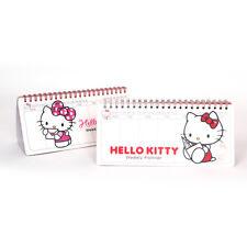 Hello Kitty - Desk Stand Scheduler Weekly Planner Diary Planner Korean Planner