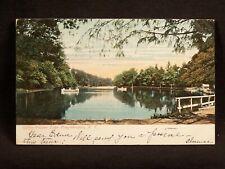 NY Poughkeepsie Vassar Lake 1907 Postcard