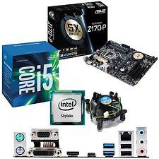 Intel Core i5 6600 3.3ghz & Asus z170-p - Motherboard & CPU Bundle