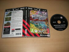 rollercoaster tycoon 3 deluxe edition pc mad-base game + addons wild & soaked
