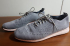 COLE HAAN WOMEN'S GRAND OS ZEROGRAND STITCHLITE OXFORD SHOES,PINK GRAY-SIZE 9