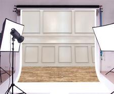 European Style Wooden Wall Floor Background 10x10FT Vinyl Studio Backdrops Props
