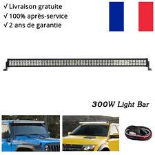 52inch Barre à LED 300W Rampe Combo feux de travail phares longue portée SUV 4x4
