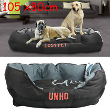 Extra Large Jumbo Orthopedic Pet Dog Bed Dog Pillow Baskets Kennel Waterproof UK
