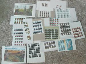 Lot of Mostly Sheets  34 & 37 Cent US Stamps Unused Nice!!