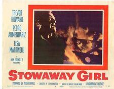 trevor howard elsa martinelli stowaway girl set of 8 Lobby Cards LC815