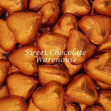 Milk Chocolate Hearts -  Orange 5kg