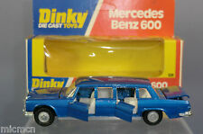 DINKY TOYS MODEL No.128 MERCEDES- BENZ 600 LIMOUSINE  MIB