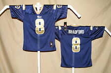Sam Bradford ST. LOUIS (now Los Angeles) RAMS Reebok JERSEY Youth Large NWT bl