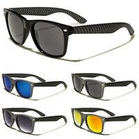 Mens and Womens Checkered Retro Vintage 1980 Stylish Fashion Sunglasses-WF01-CBF