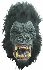 NEW Ferocious Killer Simian Gorilla King Kong DELUXE ADULT LATEX RAGE APE MASK