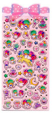 Sanrio Original Little Twin Stars Stickers Sticker Sheet Kawaii Unicorn Japan