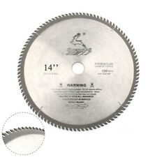 "14"" High Quality Carbide Tipped Circular Saw Blade 120T Wood Metal Cutter Tool"