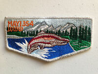 MAYI OA LODGE 354 SCOUT SERVICE PATCH FLAP SMY BORDER CLOTH BACK